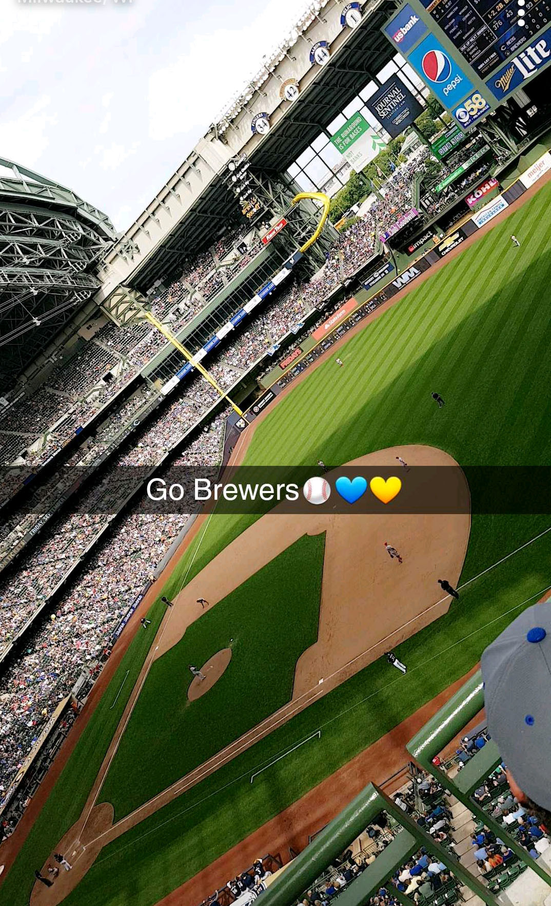 Baseball bei den Brewers | © Hanna Vogel / Baseball bei den Brewers