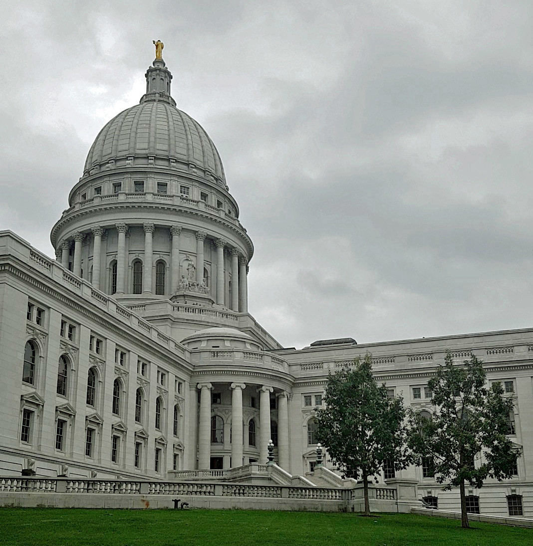 Wisconsin State Capitol in Madison | © Hanna Vogel