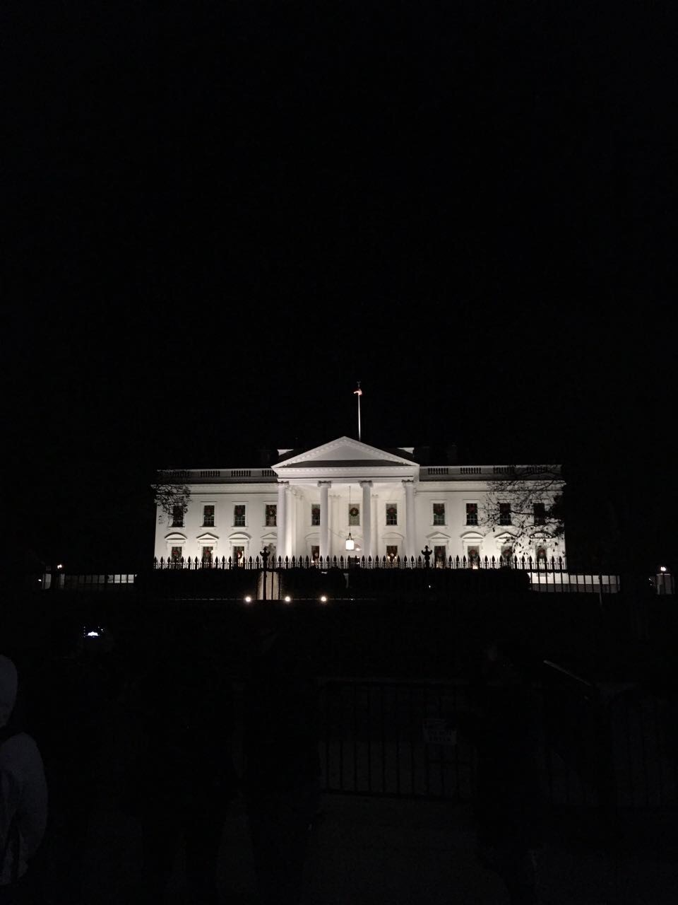 White House at night | © Julian Bahne