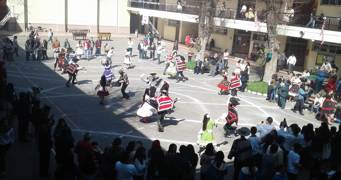 Nationaltanz in Chile - Cueca | © Lea Caruana