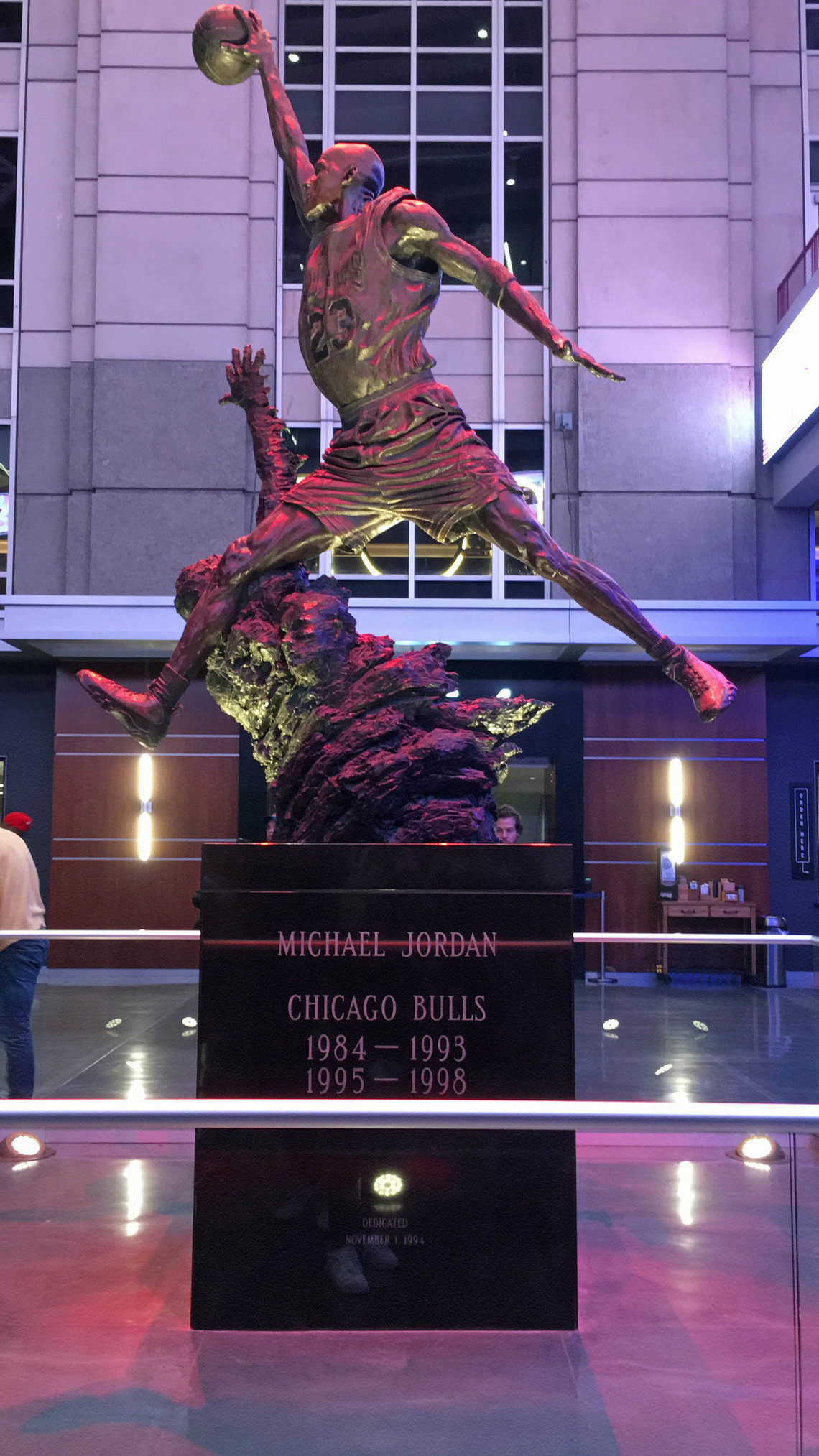 "Chicagos Sportlegende: Michael ""Air"" Jordan 
