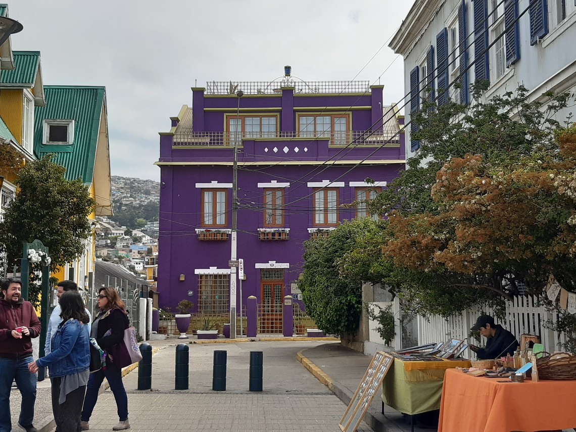 Orientartion in Valparaiso | © Merle Hauser